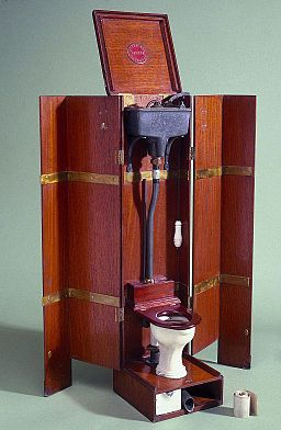 Model of Jenning's patent water closet, England Wellcome L0057576