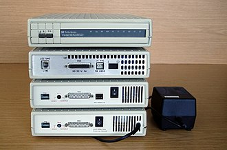 Telebit - German version of T2000, T2500 and T3000 (with Turbo-PEP)