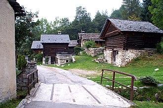 Lavizzara - Mogno village