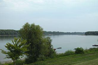 Mohács - Image: Mohács Duna