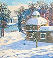 Molly Cramer - Garden by the Alster River in Winter.jpg