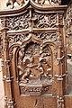 Monastère Royal de Brou - Choirs stalls 11.jpg