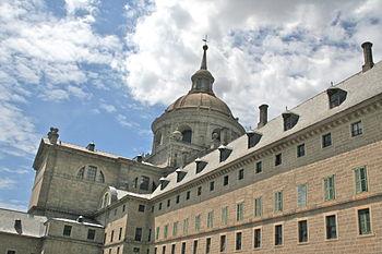 Español: Monasterio del Escorial - 2011