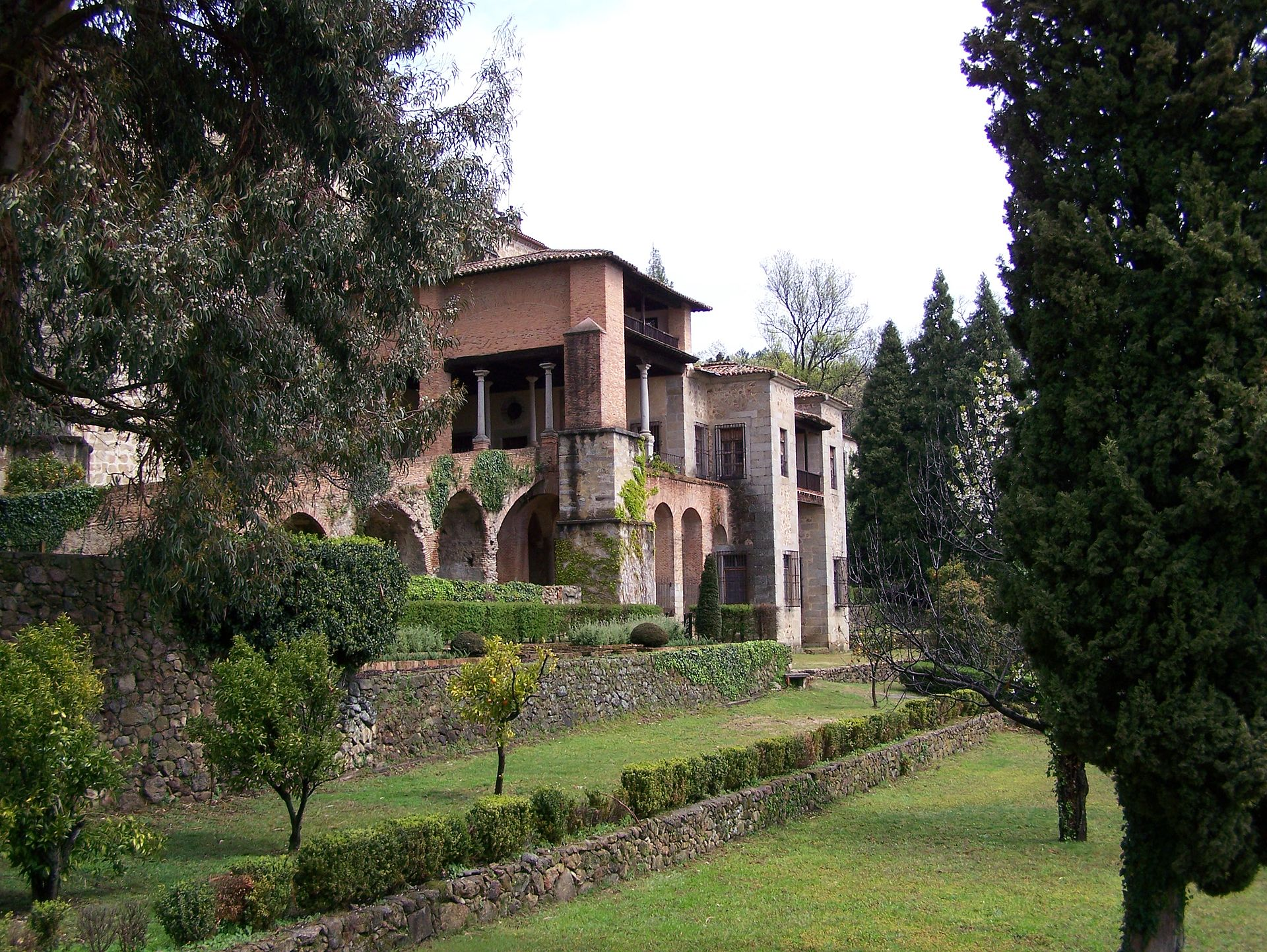Monasterio de yuste wikipedia la enciclopedia libre for La vera caceres