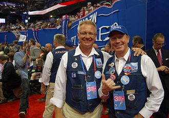 2012 United States presidential election in Montana - Members of the Montana delegation at the 2012 Republican National Convention