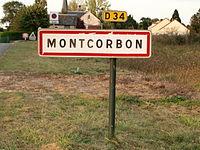 Montcorbon-FR-45-panneau d'agglomération-01.jpg