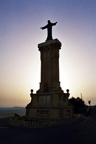 El Toro (Menorca) - The summit of el Toro at Dusk