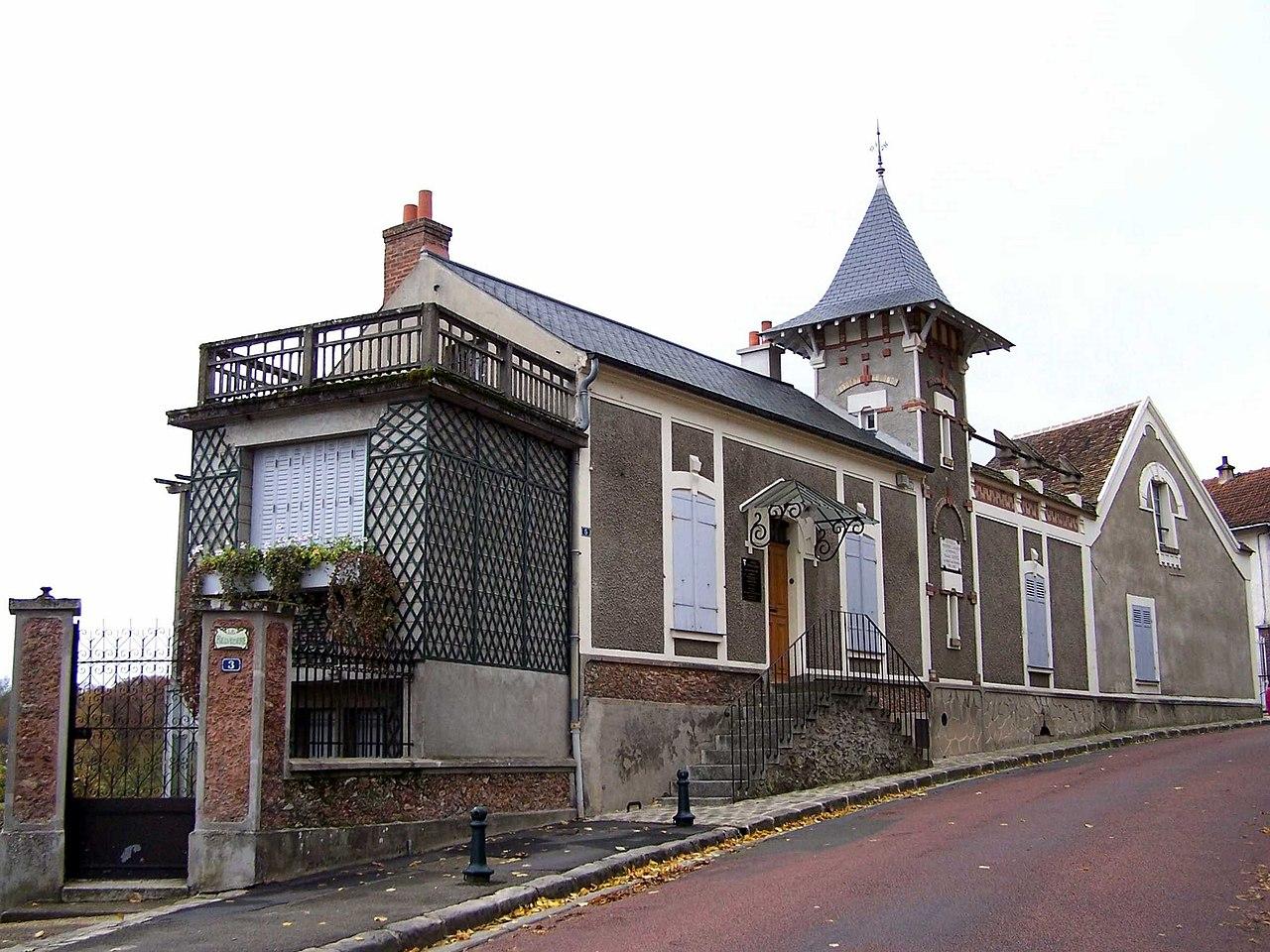 Timbre Francais Villa Maguelone