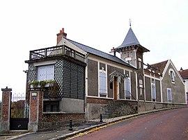 La mansión de Ravel en Montfort-l'Amaury.