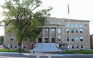 Montrose County, Colorado - Image: Montrose County Courthouse