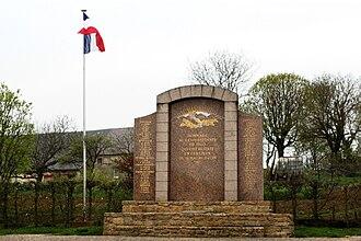 Stonne - War memorial