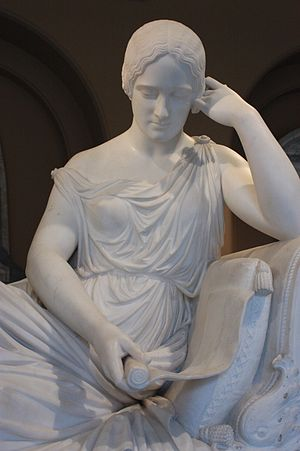 Lawrence Macdonald - Monument to Emily Georgiana, Countess of Winchilsea (detail) by Lawrence MacDonald, 1850, Victoria and Albert Museum