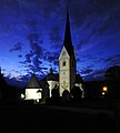 Moosburg Tigring Pfarrkirche Nachtaufnahme 23082009 91.jpg