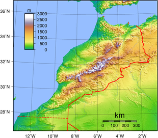 Geography of Morocco  Wikipedia