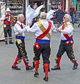 Morris dancers, York (26636759746).jpg