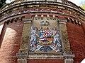 Mosaic of CoA of Hungary at Adam Clark Square, 2013 Budapest (167) (13228882495).jpg