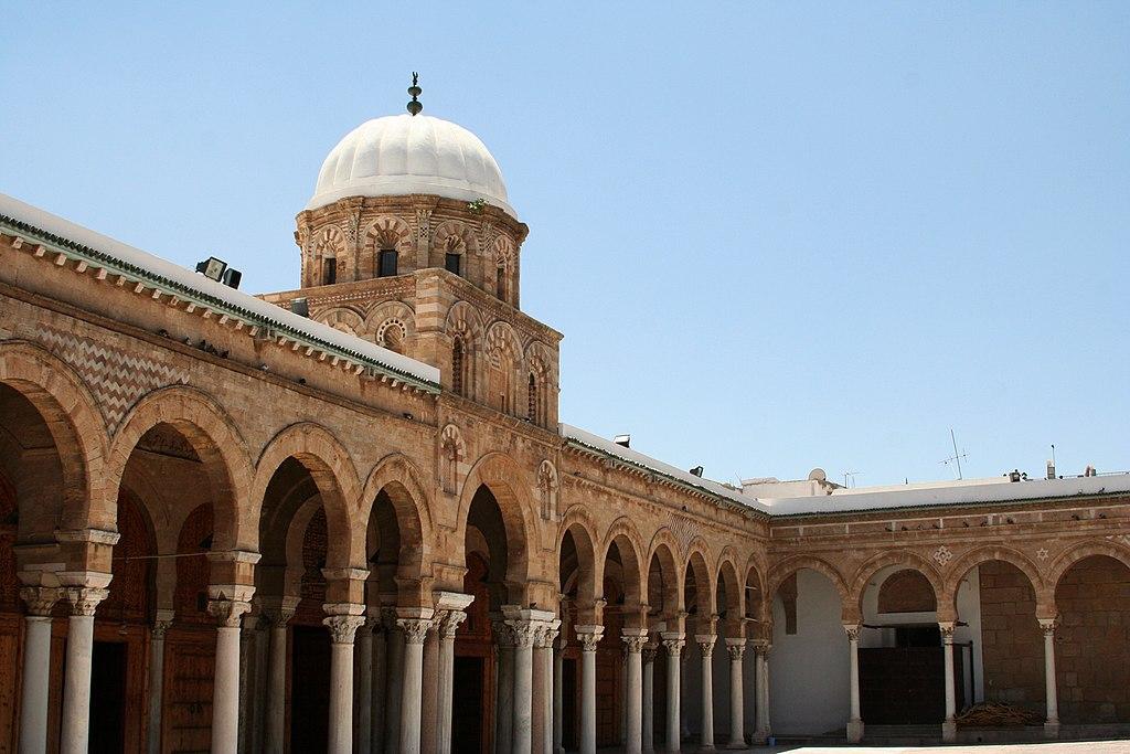 Masjid Al-Zaytuna di Tunis.
