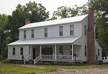 Moss Hill In Wilcox County Alabama C1845 An I House With Front And Rear Shed Rooms A Partial Porch