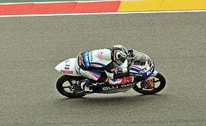 Maverick Viñales - Viñales at the 2013 Aragon Grand Prix
