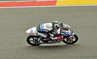 Maverick Viñales - Viñales at the 2013 Aragon Grand Prix