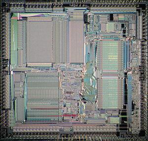 Motorola 68851 - Motorola 68851 die