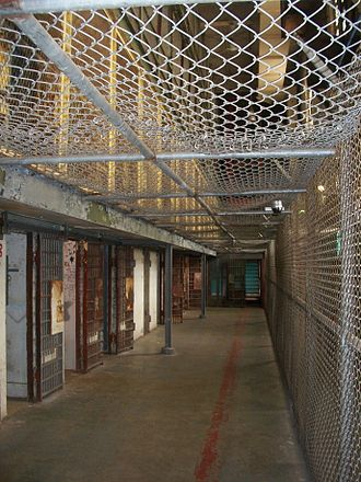 West Virginia State Penitentiary - Cells where the prison's worst inmates were kept.