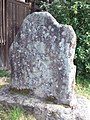Mount Hôrai-ji Buddhist Temple - Stone monument with a carving of a dragon.jpg