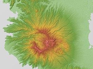 Philippinen Mount Natib