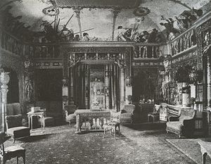 "Herter Brothers - ""Mr. William H. Vanderbilt's Drawing-Room,"" (1882)."