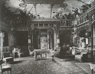 "Herter Brothers - ""Mr. William H. Vanderbilt's Drawing-Room,"" (1882)."