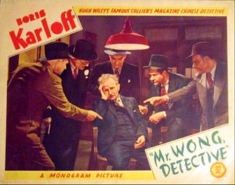 Mr. Wong, Detective - Lobby card for the film