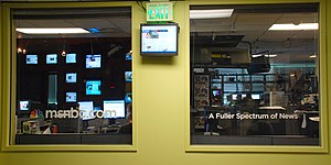NBCNews.com - NBCNews.com's main newsroom in Redmond, Washington