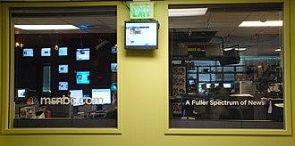 NBCNews.com - NBCNews.com's main newsroom in Redmond, Washington