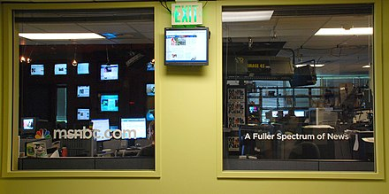 NBCNews.com's main newsroom in Redmond, Washington, 2007 Msnbc.com Newsroom.jpg