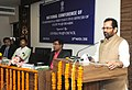 Mukhtar Abbas Naqvi addressing the valedictory session of the National Conference of Chairman and Chief Executive Officer of State Waqf Boards, in New Delhi.jpg