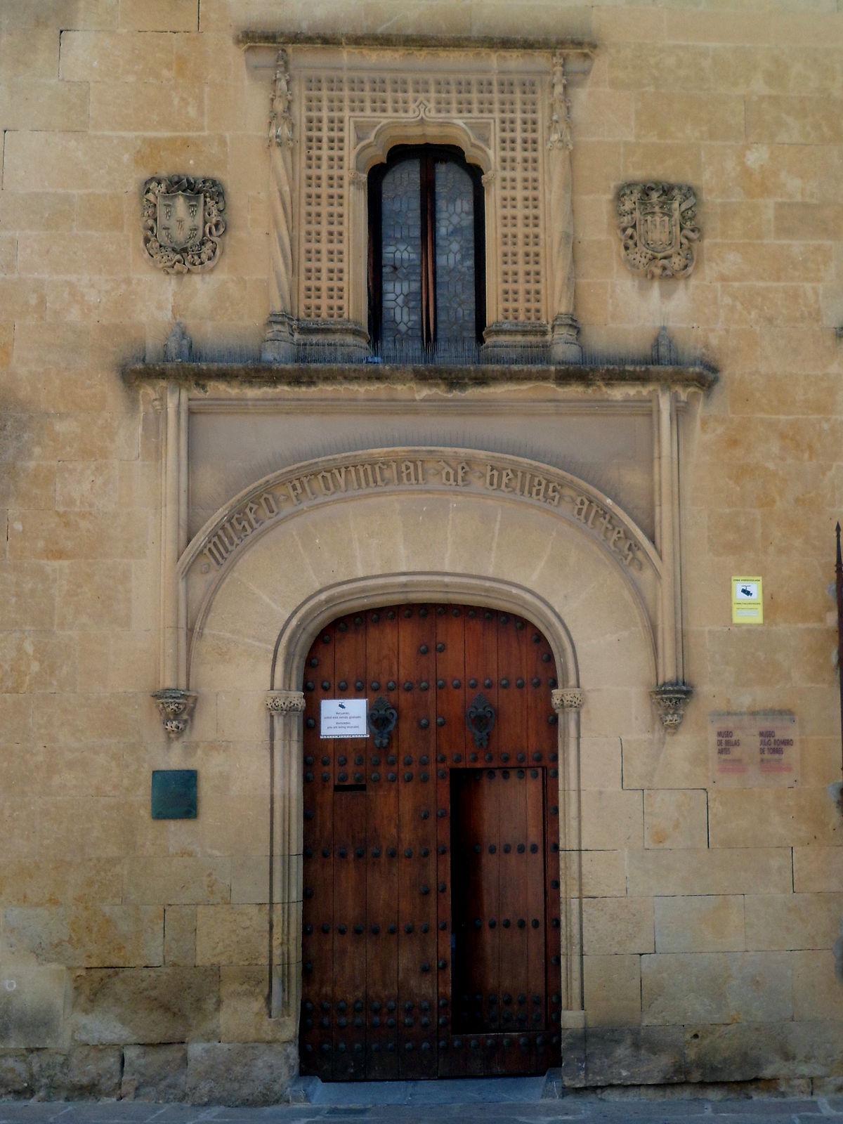Museum Of Fine Art >> Museum of Fine Arts of Córdoba - Wikipedia