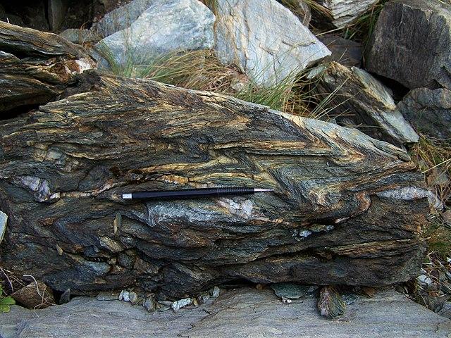 Chloriticko-dolomitický mramor - premenená hornina