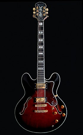Image illustrative de l'article Epiphone Sheraton
