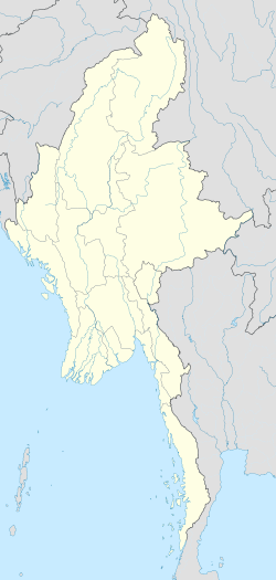 Мандалай is located in Мьянмар
