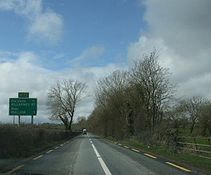 National secondary road - Image: N72road Cork