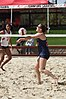 NCAA beach volleyball match at Stanford in 2017 (33431686345).jpg