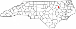Location of Speed, North Carolina