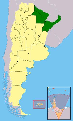 Región del Noreste Argentino - Wikipedia, la enciclopedia libre