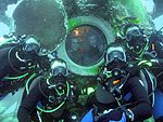 NEEMO 13 crew underwater.jpg