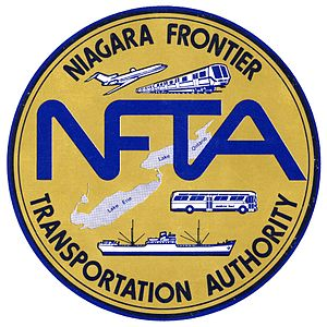 Niagara Frontier Transportation Authority - 1975 logo of NFTA