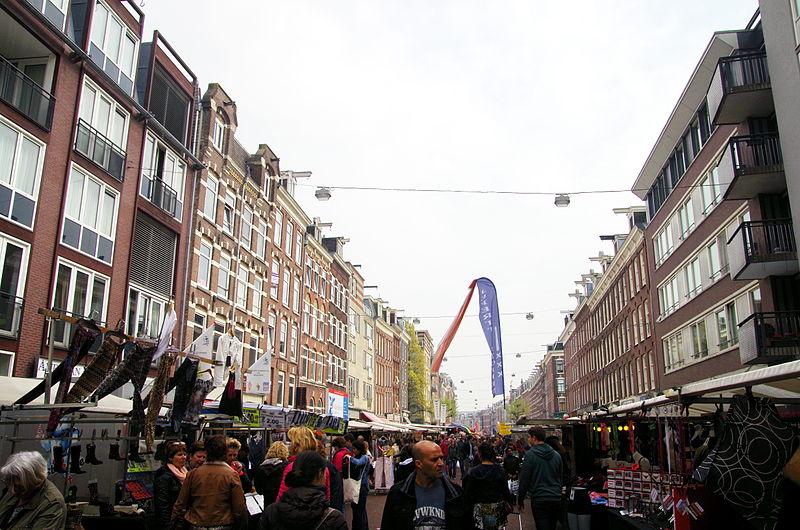Onde ficar em de pijp Amsterdam