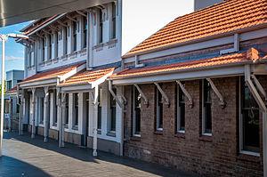 Newtown Tram Depot - Image: NSWGT Newtown Tram Depot Offices