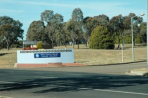 Goulburn, New South Wales - The New South Wales Police Academy is situated at McDermott Drive, Goulburn.