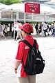 NTT DoCoMo Wi-Fi staff at Comiket 20150816.jpg
