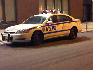 New York City Police Department School Safety Division - A NYPD School Safety vehicle in white livery.